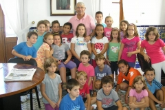 Tercer Visita l\'Ajuntament Set-2011